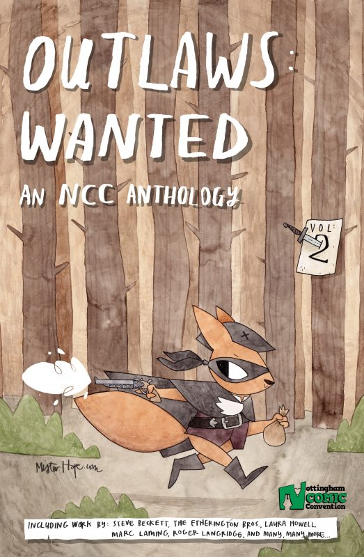 2017 – Outlaws: Wanted Anthology Comic